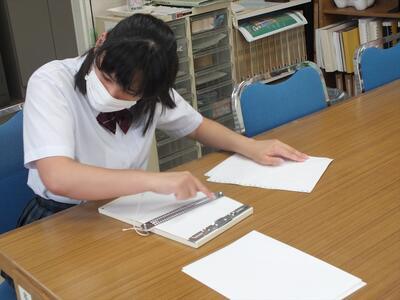 点字板での受験
