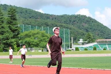 男子100m走