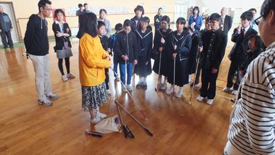 白杖の種類と役割の説明