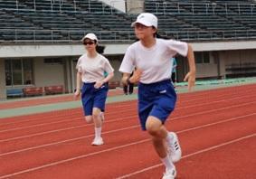 100メートル走 中学部