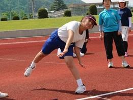 ソフトボール投げ(中学部)